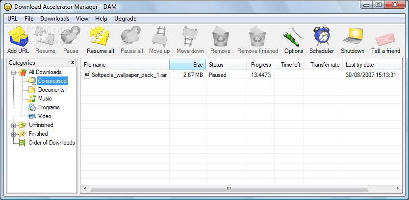 កម្មវិធី Download Accelerator Plus 9 6 0 7 | Information